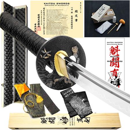 Espada Kaitou Shinken Shisa 1075 + kit de acessórios