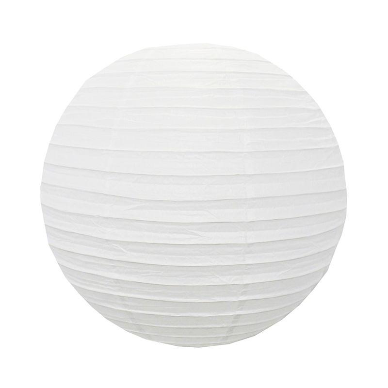 Luminária Branca Lisa 35 cm