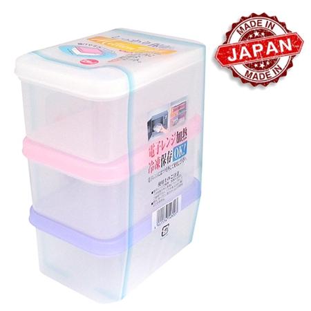 Pote Plástico Million Pack 3 unid. de 200 ml