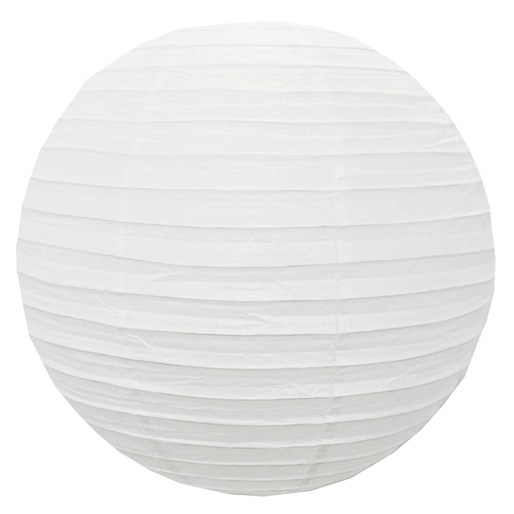 Luminária Branca Lisa 50 cm
