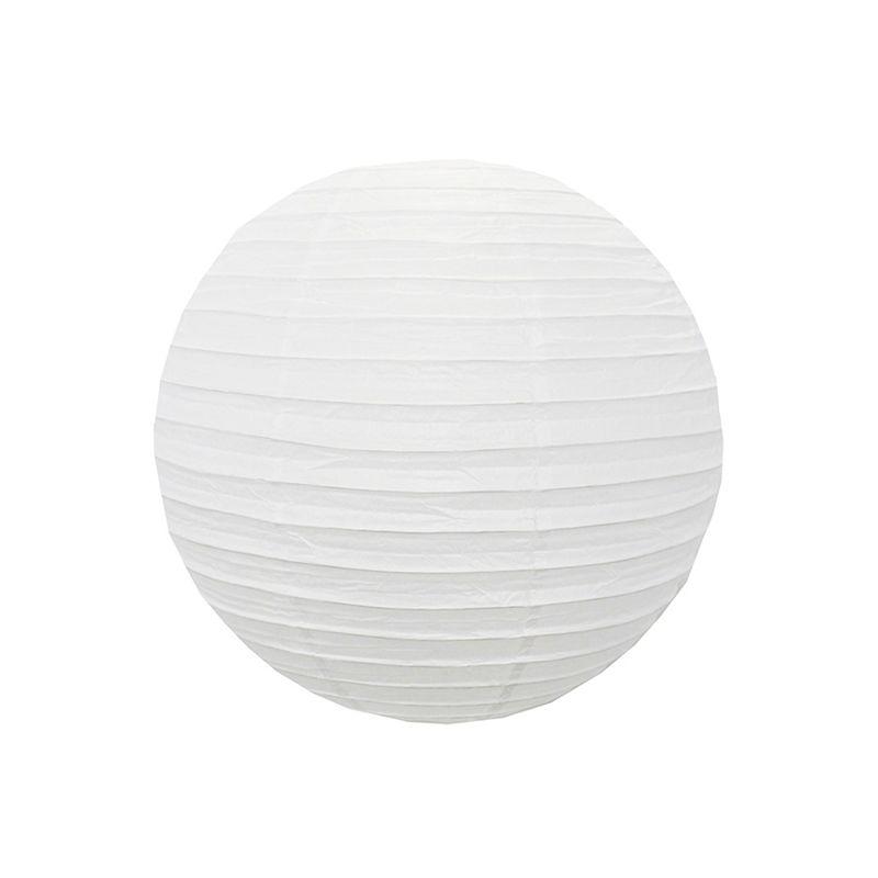 Luminária Branca Lisa 25 cm