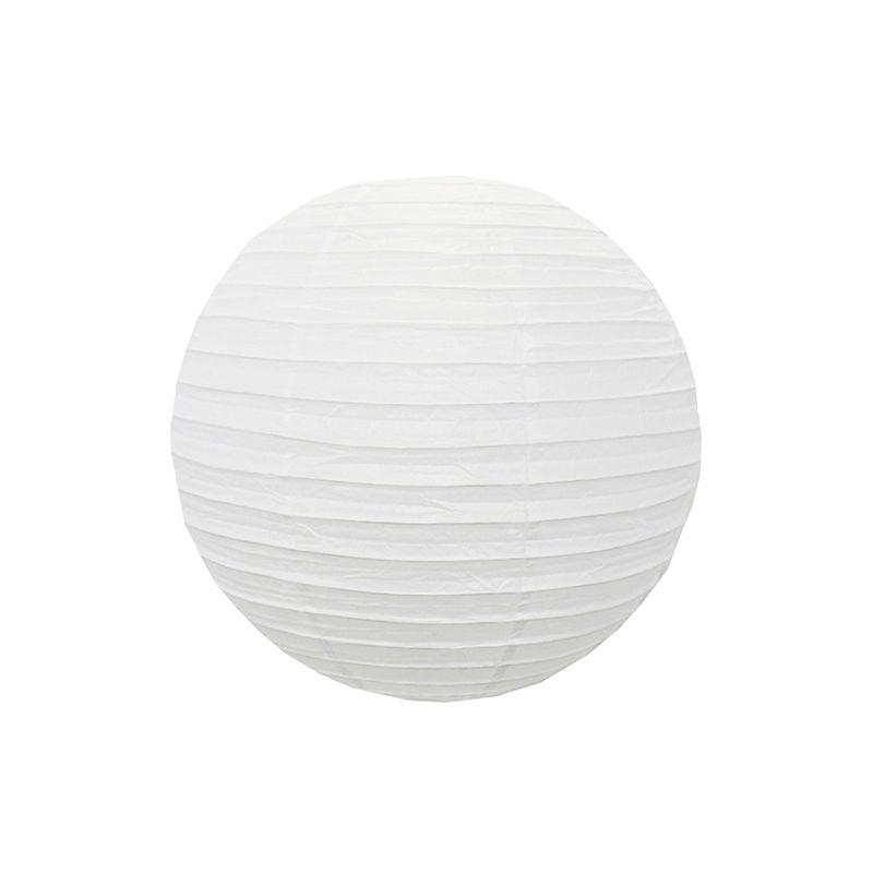 Luminária Branca Lisa 20 cm