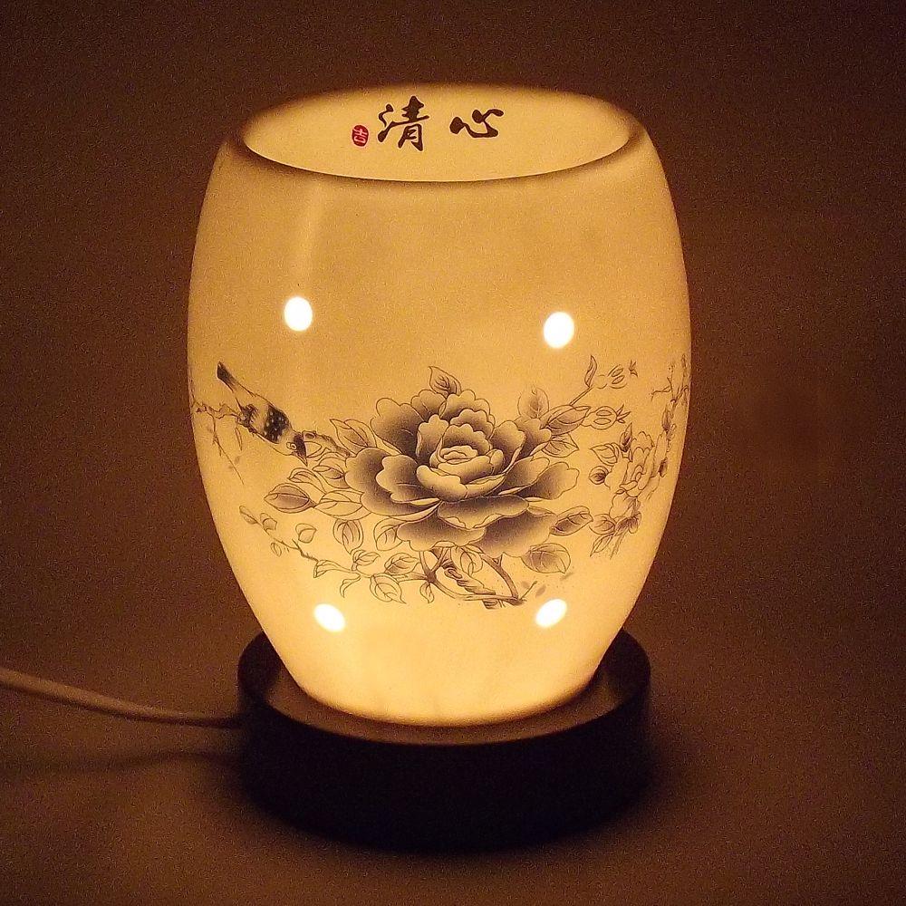 Luminária Aromatizador Elétrico Seishin 12 x 16 cm / 110v