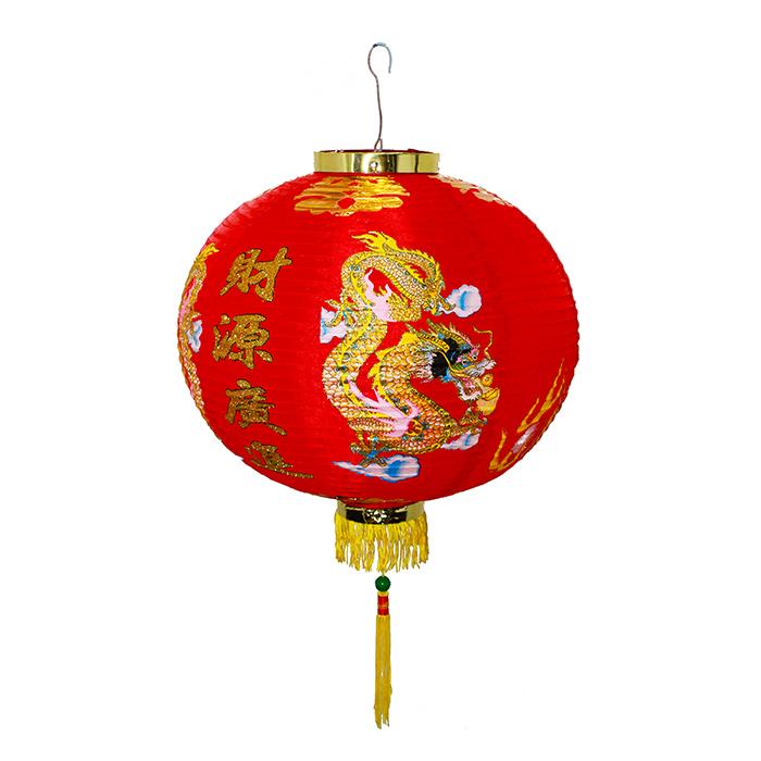 Luminária Chinesa Dragão 40 cm