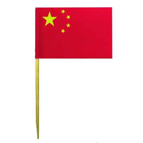 Espeto Bandeira da China c/ 50 unid.