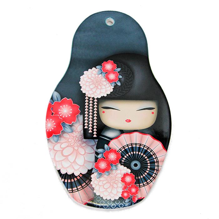 Descanso p/ Panela Kokeshi 13 x 22 cm - Sakura