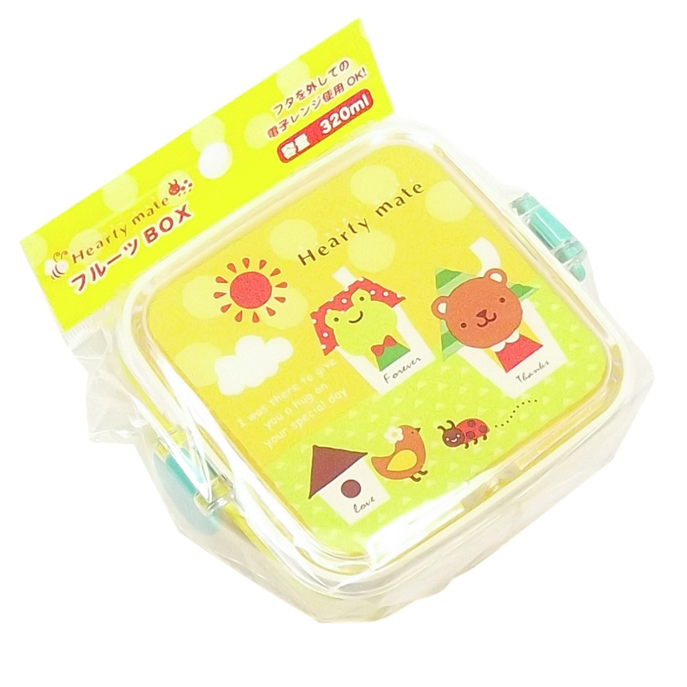 Bento Box c/ Trava Sapo / Urso Amarelo 320 ml