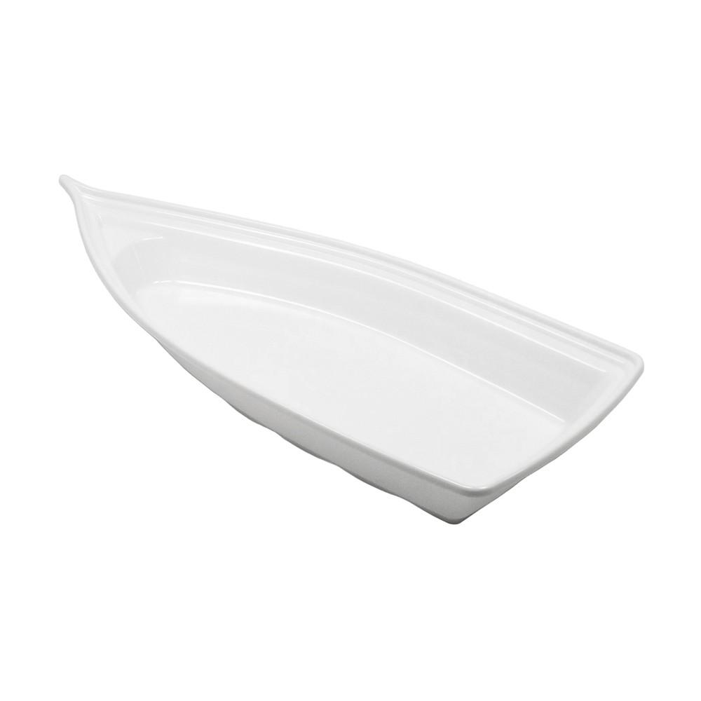 Barco Acrílico Branco 32 x 14 cm 800 ml Kit c/ 12 pcs