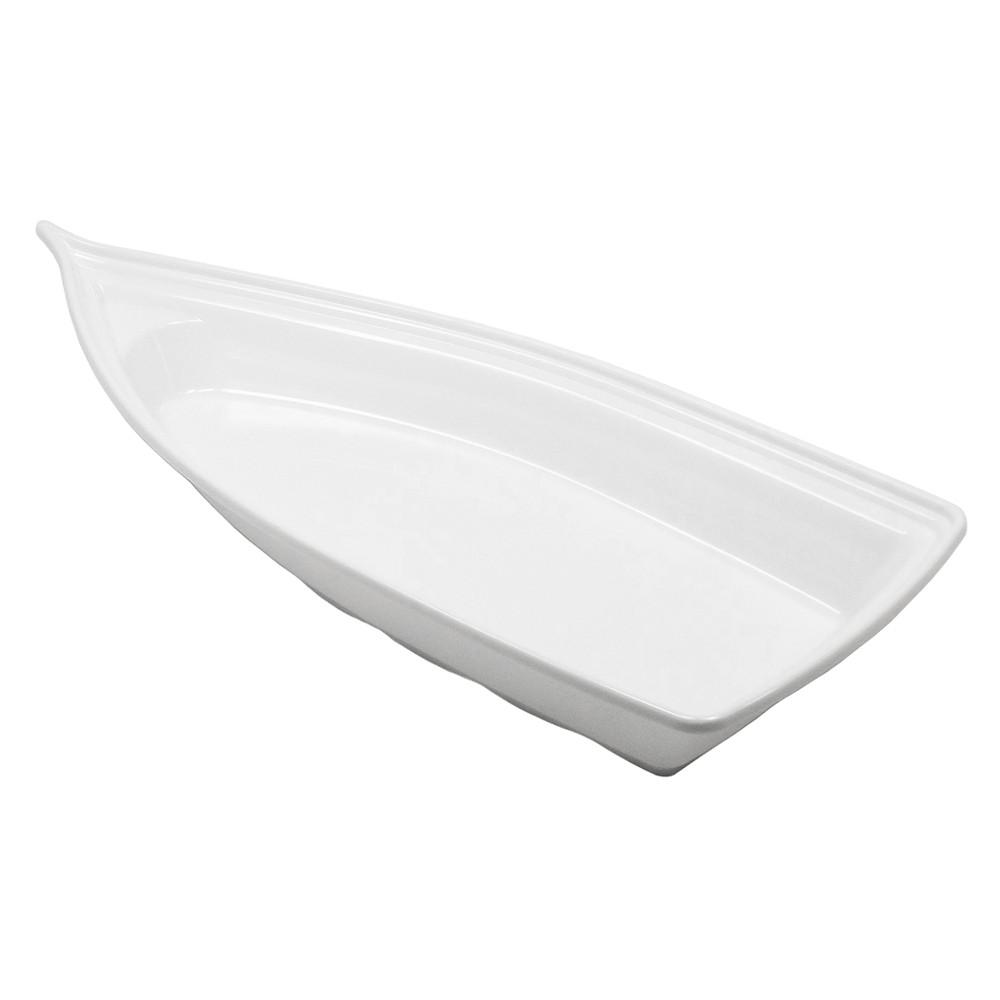 Barco Acrílico Branco 42 x 18 cm 1900 ml Kit c/ 12 pcs