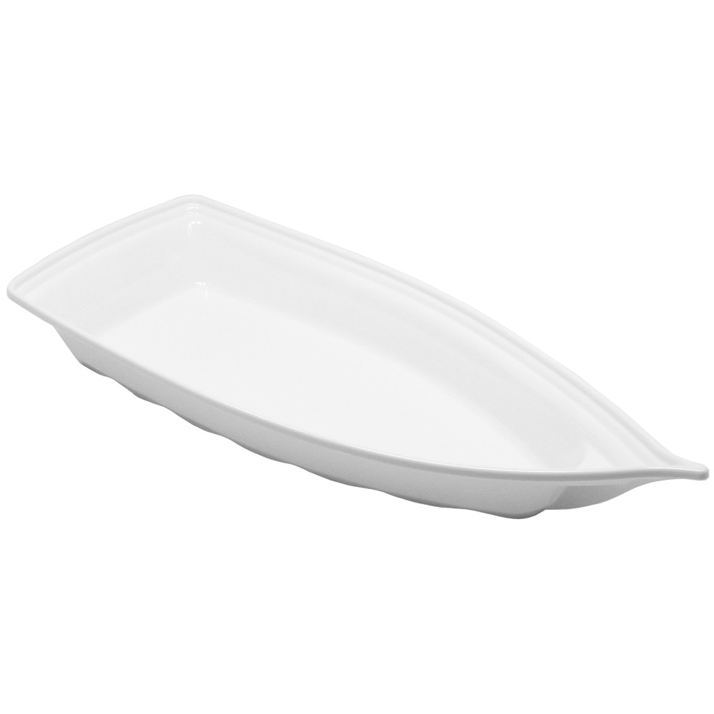 Barco Acrílico Branco 42 x 18 cm 1900 ml Kit c/ 36 pcs
