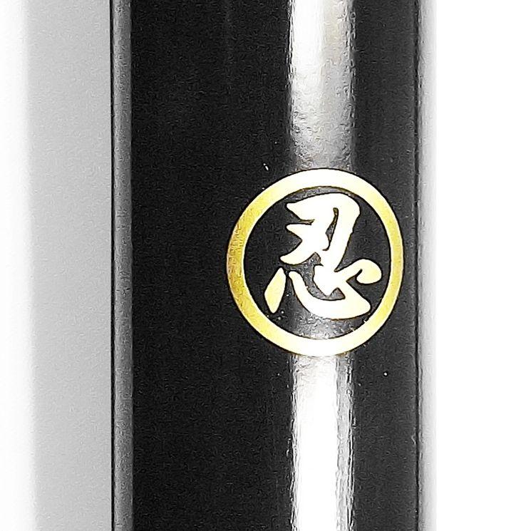 Espada Ninjato Black Funcional + Suporte + Lubrificante