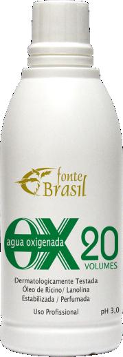 Água oxigenada 20 volumes 100ml  - Fonte Brasil Cosméticos