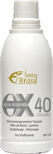 Água Oxigenada 40 volumes 100ml  - Fonte Brasil Cosméticos