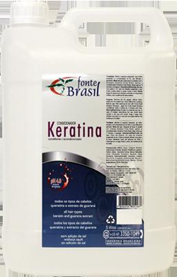 Keratina Condicionador 5 Litros  - Fonte Brasil Cosméticos