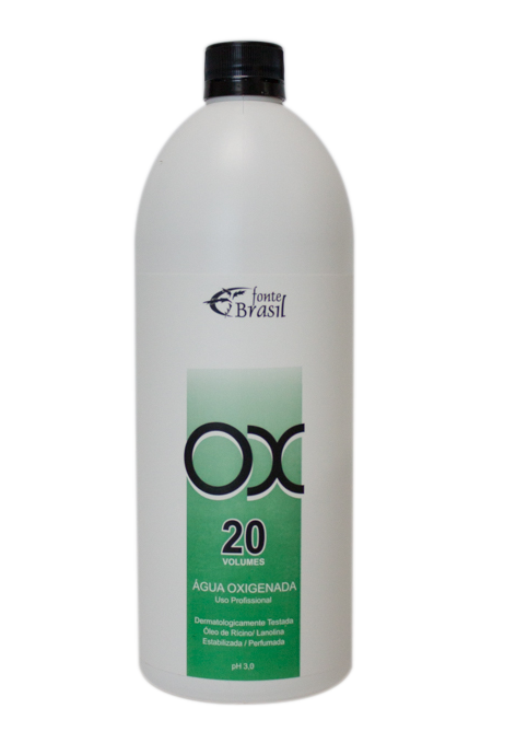 Água oxigenada 20 volumes 900ml  - Fonte Brasil Cosméticos
