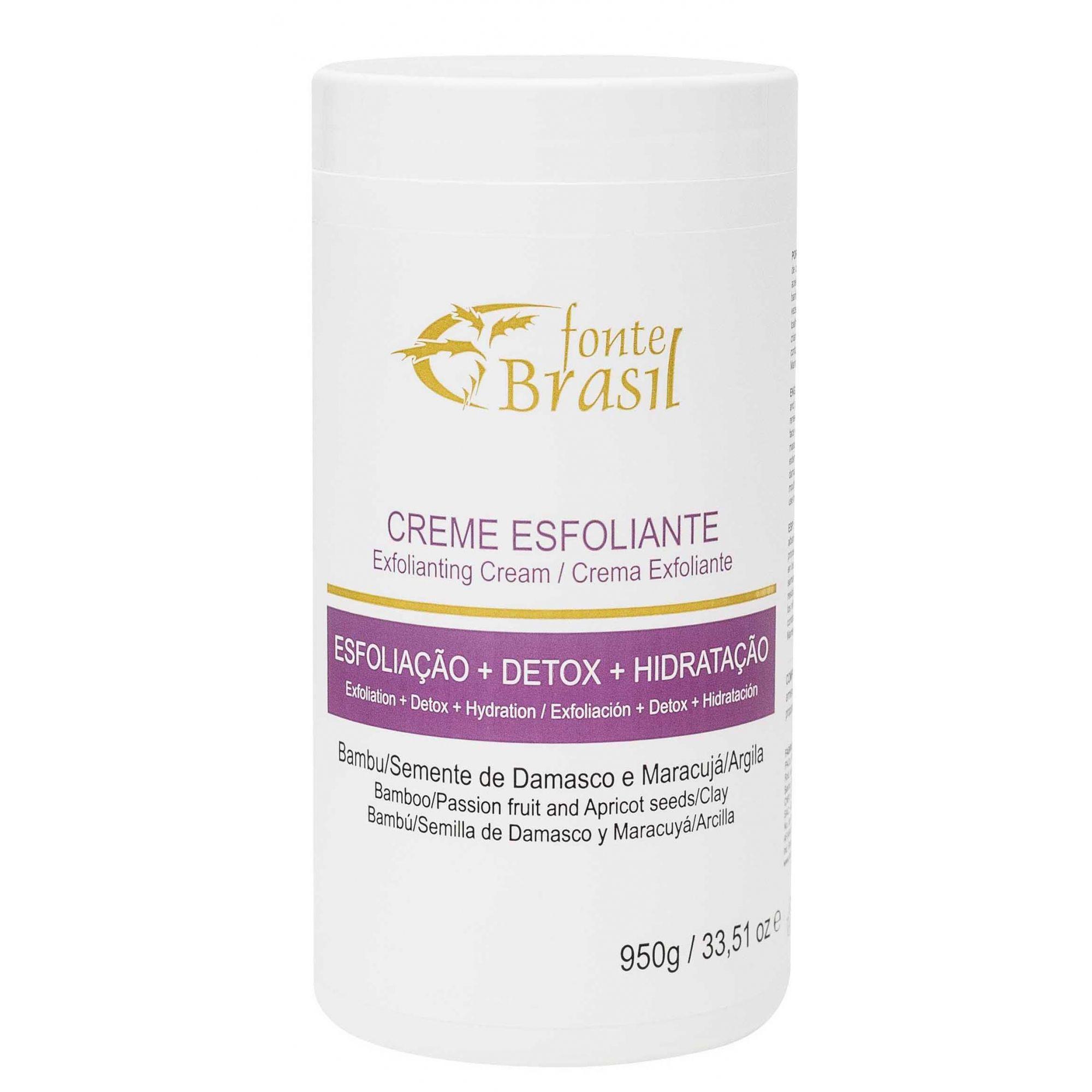 Creme Esfoliante 950g  - Fonte Brasil Cosméticos