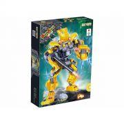 Blocos de Montar Robô Fighter Amarelo 215 Peças – Banbao