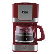 Cafeteira Philco PH16 Inox 15 xícaras 110V – Vermelho