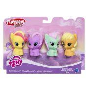 My Little Pony Kit c/ 4 Figuras Playskool Hasbro