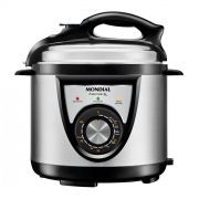 Panela de Pressão Elétrica Mondial Pratic Cook 4L Premium