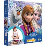 Quebra-Cabeça Grandão Disney Frozen 120 Peças  Jak