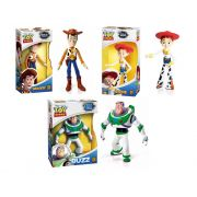 Toy Story Bonecos WOODY, JESSIE e BUZZ 16cm Grow