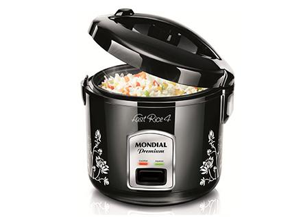 eab5ac1b6 Panela de Arroz Elétrica Mondial Fast Rice 4 Premium 4 xícaras -  MixFree.com.