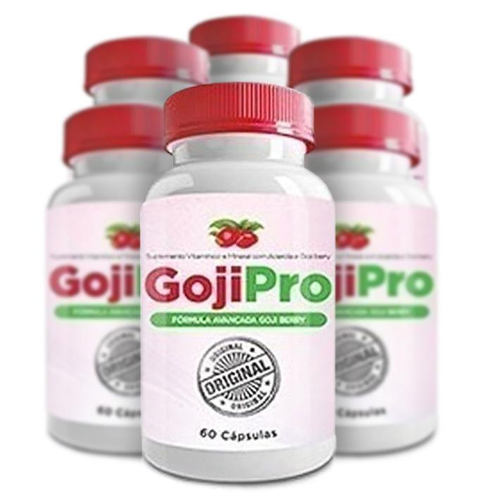 Goji Pro Original - 60 Cápsulas - Compre 4 e Leve 6