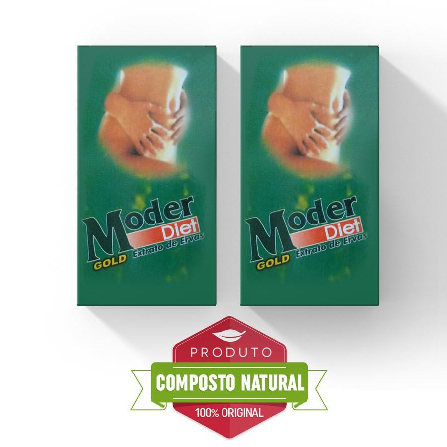 Moder Diet Gold ORIGINAL - Combo com 2 caixas