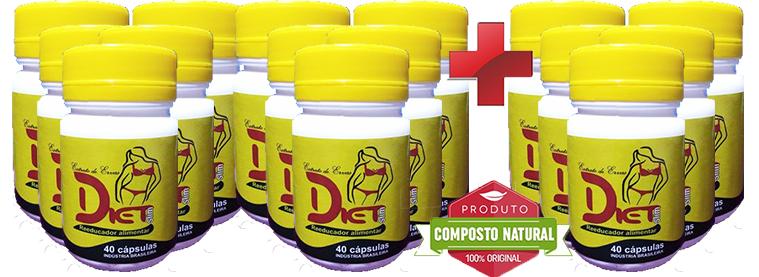 Diet Slim - Compre 10 Leve 15  - Composto Natural