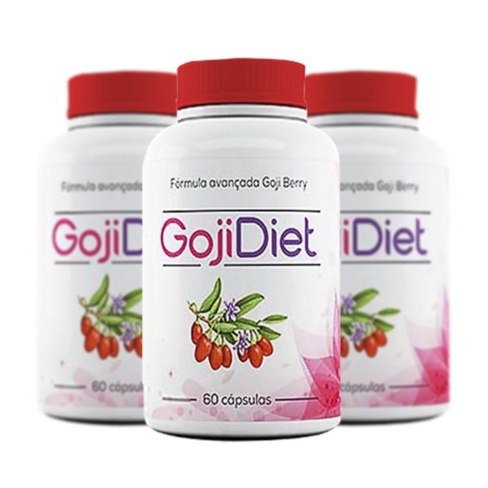 Goji Diet Original - Combo com 3 potes
