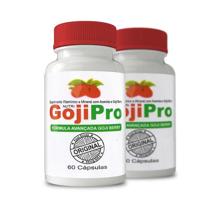 Goji Pro 60 Cápsulas - Combo com 2 potes