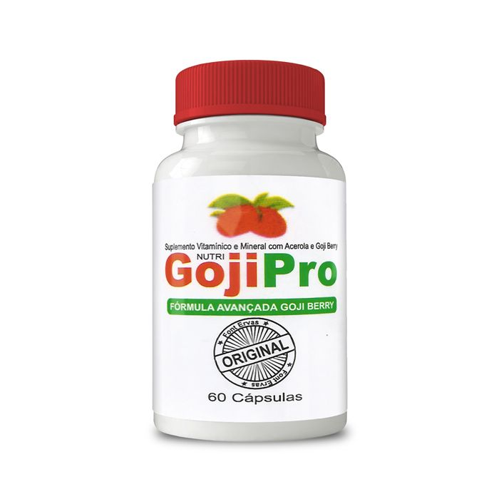 Goji Pro Original - 60 Cápsulas   - Composto Natural