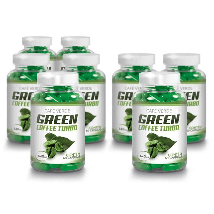 Green Coffee - Compre 5 e leve 8 potes - Original 640mg - 60 Cápsulas