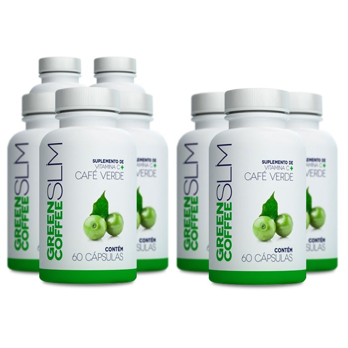 Green Coffee Slim Compre 5 Leve 8 Potes