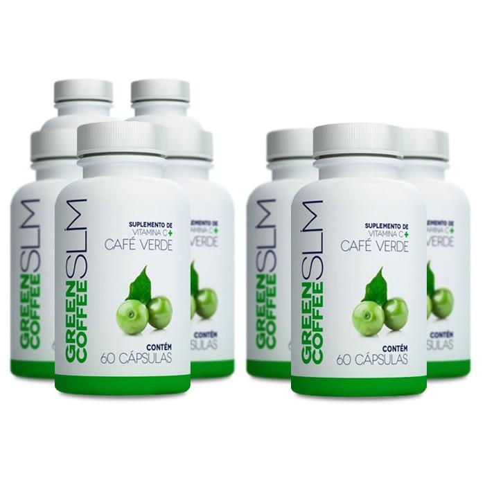 Green Coffee Slim Compre 5 Leve 8 Potes  - Composto Natural