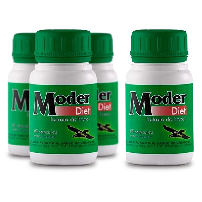 Moder Diet Gold ORIGINAL - Compre 3 e leve 4 caixas  - Composto Natural