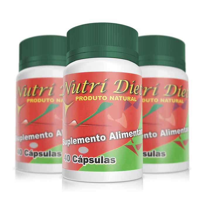 Nutri Diet - Combo 3 unidades  - Composto Natural
