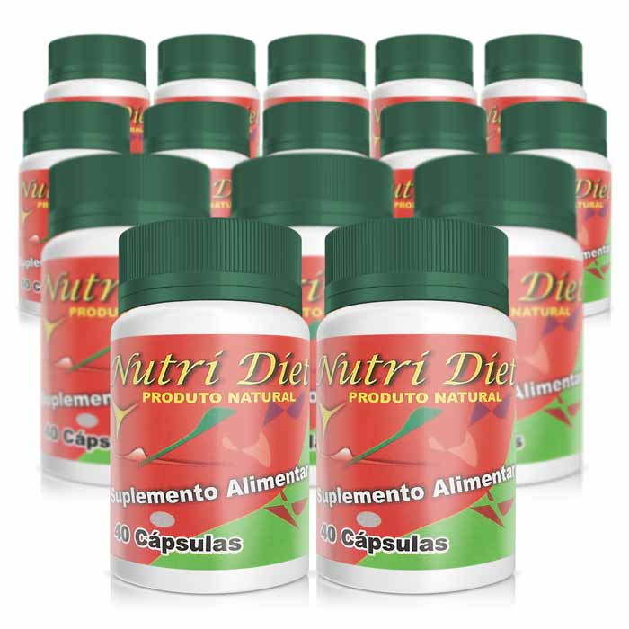 Nutri Diet - Pague 10 leve 15  - Composto Natural