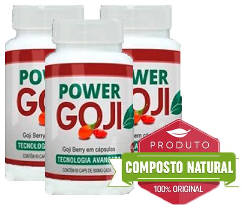 Power Goji - PROMOÇÃO 3 POTES 99,90  - Composto Natural
