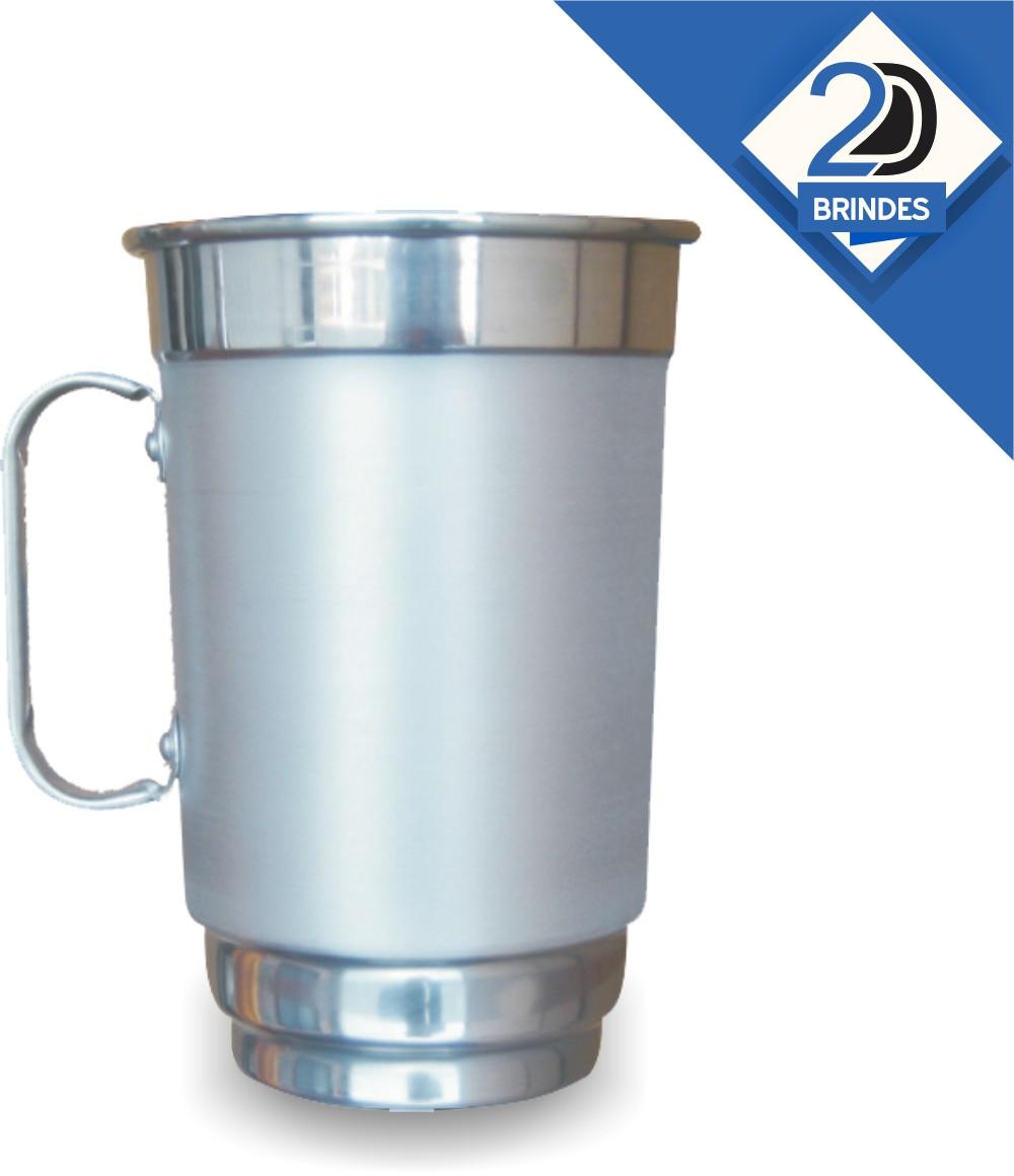 Caneca Alumínio Personalizada 750ml  - 2D Brindes