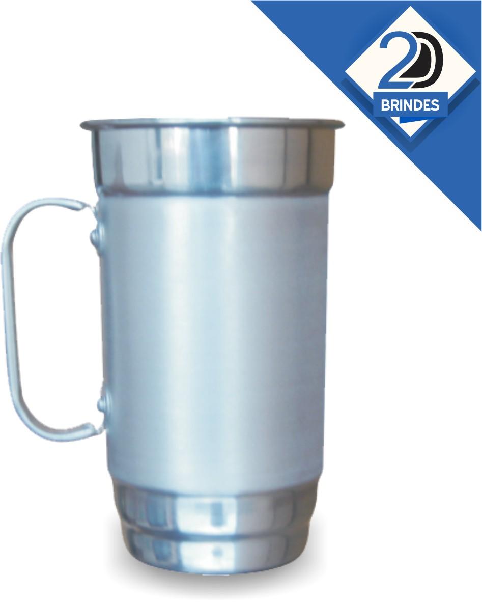 Caneca Alumínio Personalizada 500ml  - 2D Brindes