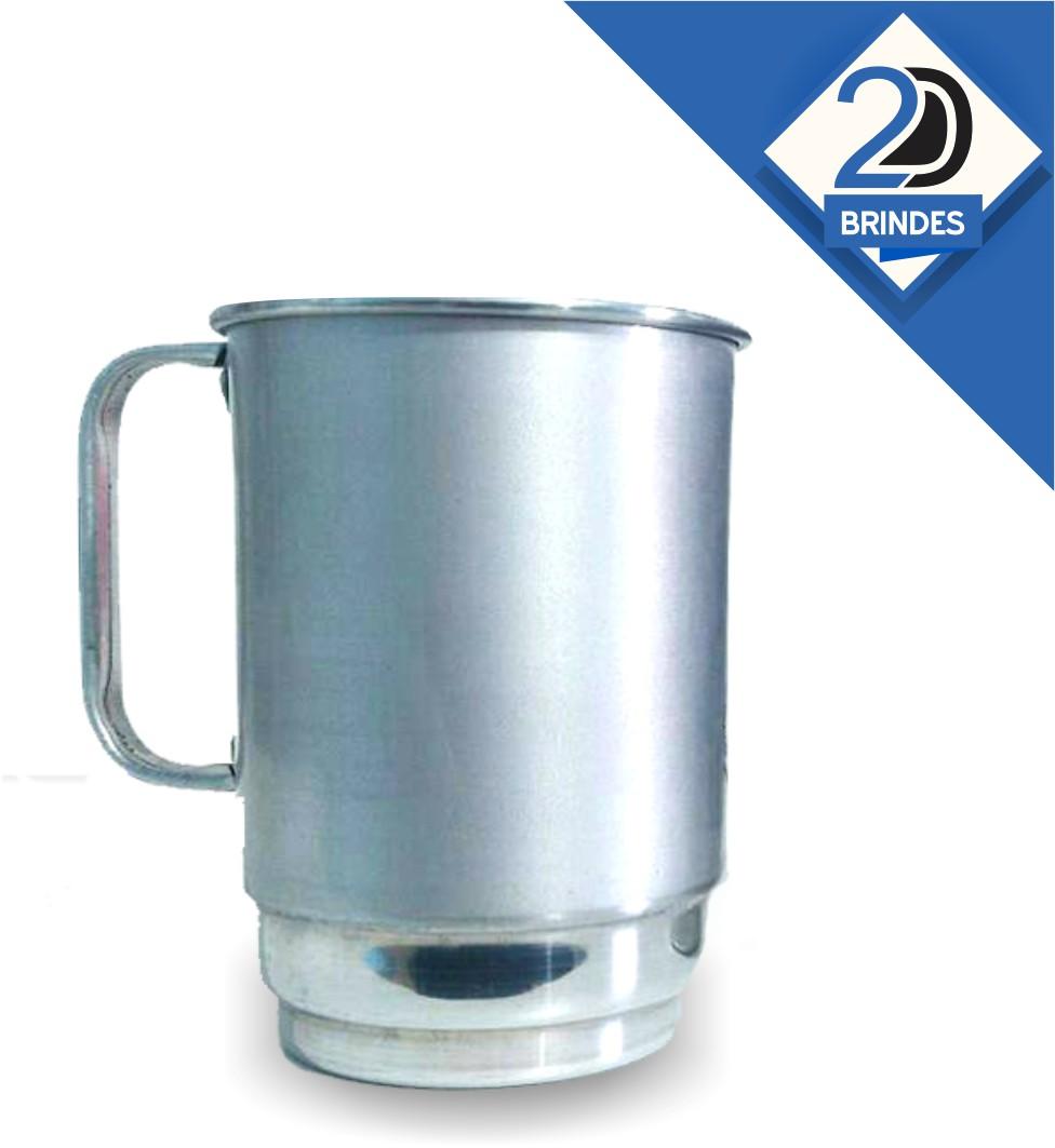 Caneca Alumínio Personalizada 550ml  - 2D Brindes