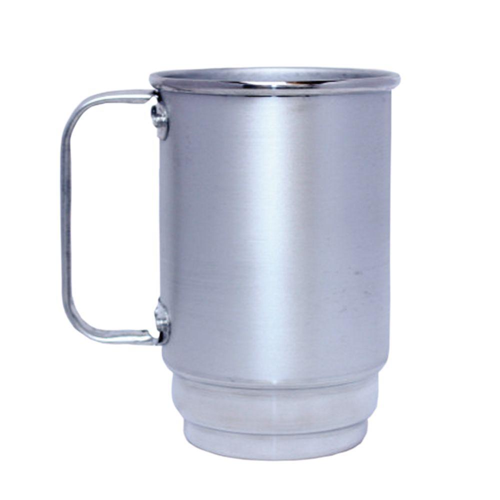 Caneca Alumínio 400ml Resinada P/ Sublimação  - 2D Brindes