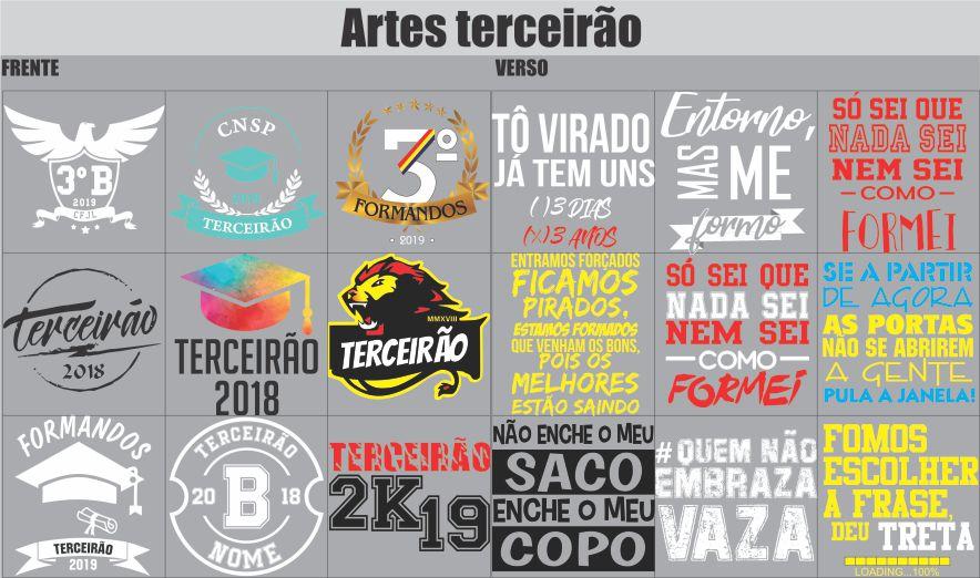 Canecas Alumínio TERCEIRÃO 850ml + Fita Personalizada  - 2D Brindes