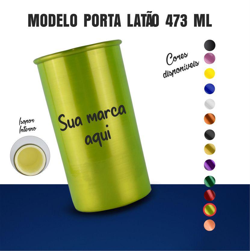 Porta Latão Colorido  - 2D Brindes