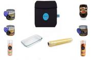 Super Kit Cozi Bag 750ml  + Refratária 750ml + 100 mts de Filme + Temperos