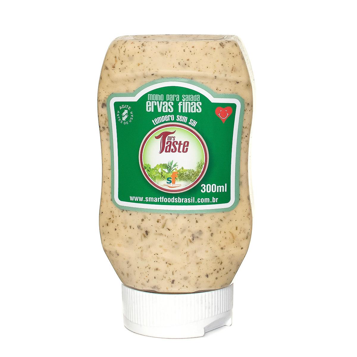 Molho para Salada Sabor Ervas Finas Mrs Taste 300ml