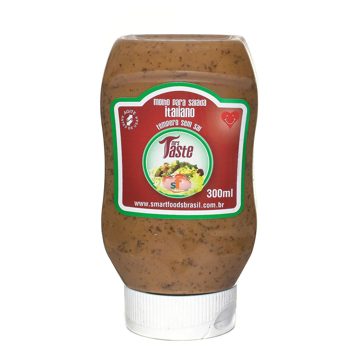 Molho para Salada Sabor Italiano Mrs Taste 300ml