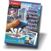DVD - RENDA MÁGICA E MOLDE PARA RENDA MÁGICA - Nº 5 COM JORGE PINTO